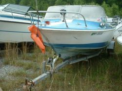 1965 18 All American Outboard Runabout Hull