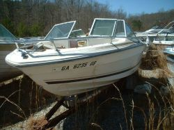1980 Sea Ray 192 SRV Bowrider Mercruiser 470