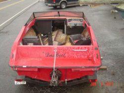 1989 Raven 2100 Countach Cuddy Cabin Mercruiser trans assy
