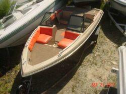 1985 Ebbtide 156SS DynaTrak Fish N Ski Outboard Hull