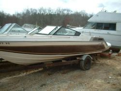 1986 187 XL Bowrider Mercruiser Cut Hull