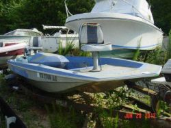 1971 Skeeter Stinsen Eagle Not Skeeter Evinrude 140