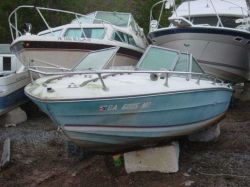 1974 Sea Ray 180 SRV Runabout Mercruiser 165