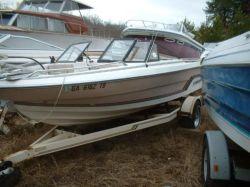 1985 Galaxy Boats 65 Bowrider Mercruiser 120