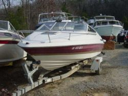 1992 Maxum 1900SC Cuddy Mercruiser cut hull