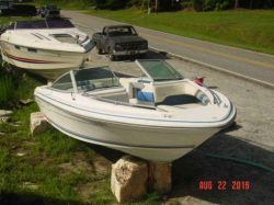 1990 Sea Ray 200 Seville Bowrider Mercruiser cut