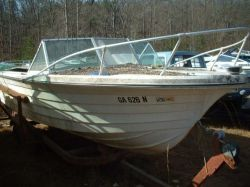 1971 185 Deep Vee Mercruiser 160