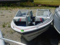 1985 Bayliner 1650 Capri Bowrider Outboard Hull