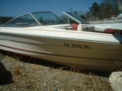 1984 Sea Ray 197 Monaco Bowrider Mercruiser Cut Hull