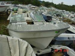 1977 SportCraft 160 Bowrider Outboard hull
