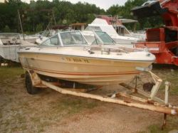 1981 Sea Ray SRV 190 Bowriber OMC Hull