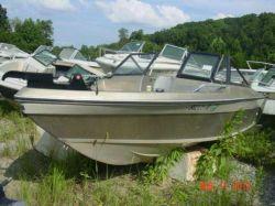 1981 Cimmaron 16 SJ Bowrider Outboard hull