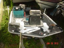 1970 Cimmaron 150 Fisherman Outboard Hull Johnson Trolling Motor