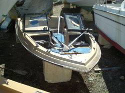 1985 500CLX Fish n Ski outbord hull