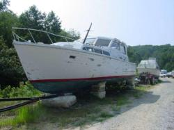 1963 Egg Harbor 37 Sport Fisher Twin 318's