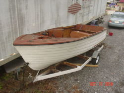 1959 Cruiser Inc 18 Runabout