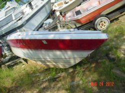 1989 1700 Bowrider Mercruiser Cut Hull