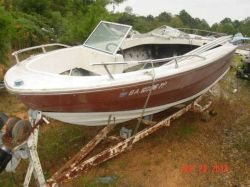 1981  Bowrider Mercruiser cut hull