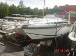 1989 290PC Express Cruiser Twin 7.4 Bravo Formula