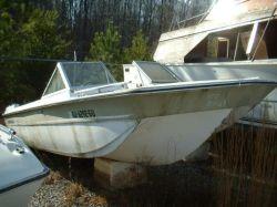 1974 Marine 17 Bowrider Project Boat