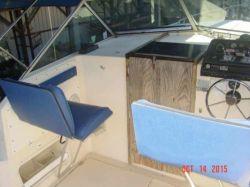 1995 Sunbird 170 F/S fish ski outboard hull