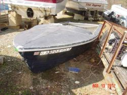 1969 Marine 15 Invicta Speedboat not OB Hull