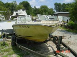 1977 Galaxy Boats 180 Bowrider OMC175 Ford 302 5.0