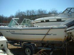 1986 Sea Ox 200D Dual Console Off Shore 225 Johnson