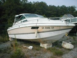 1980 225 Suncruiser Mercruiser Cut Hull