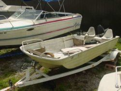 1971 Cacci Craft 15 Back Bay Fisher Mercury 50
