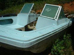 1969 Atlantic Project Bowrider OB Hull J/E Hydro Electric Contro