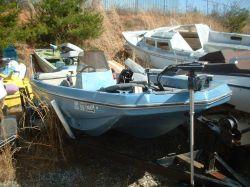 1975 Fish Master 16 FM CC Bass Boat