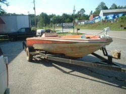 1978 Hydra-Sports Custom 16 Hydra Sport Project Bass Boat