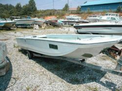 1971 14 Stick Steer Fishing Boat