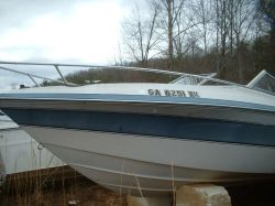 1989 210 XL Classic Cuddy Mercruiser cut