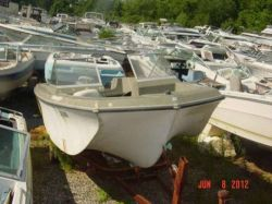 1971 180 Bowrider Modified Vee Evinrude Lark IV 40