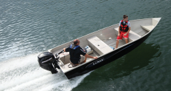 2014 - Lowe Boats - V1672 HD