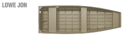 2011 - Lowe Boats - L1436L