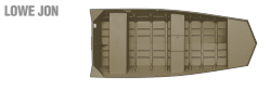 2011 - Lowe Boats - L1448MT