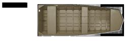 2011 - Lowe Boats - L1648MT