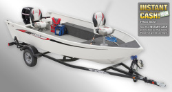 2012 - Lowe Boats - A160S