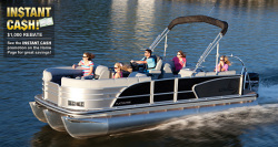 2012 - Lowe Boats - Platinum 23 Luxury Cruise RFL