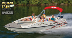2012 - Lowe Boats - SD220 Sport Deck Cruiser