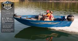 2013 - Lowe Boats - AN160SC