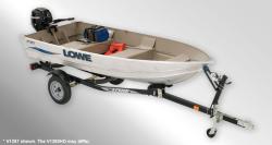 2013 - Lowe Boats - V1260 HD