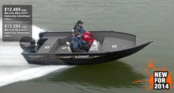 2014 - Lowe Boats - FM160 Pro