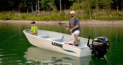 2015 - Lowe Boats - V1667