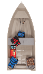 2015 Lowe Boats Angler 1260H