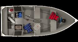 2018 - Lowe Boats - V1468W