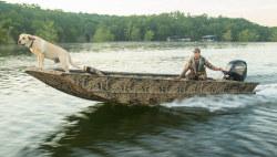 2021 - Lowe Boats - Roughneck 1860 Waterfowl Tiller